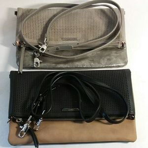 Waverly Petite Brushed Metallic & Black Camel Set